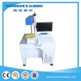 máquina da marcação do laser da fibra da gravura da superfície 3D curvada