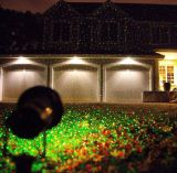 Напольное украшение рождества лазерного луча/декор партии домашний