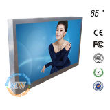 65 '' LED Backlit Large Outdoor Advertisement LCD Display mit Touch Screen
