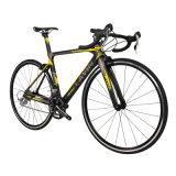 20 Geschwindigkeits-Spitzenkohlenstoff-Faser-Straßen-Fahrrad für Laufring