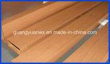 Verdrängte hölzernes Aluminium des Korn-6063 T5 Profil-Gefäße/Rohre