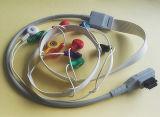 Duitsland-Rozinn 10 de Kabel van Snap&Clip ECG