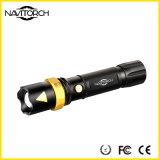 재충전용 크리 사람 XP-E LED 250lm 전술 토치 (NK-222)