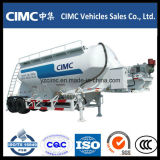 Cimc 60m3三車軸大きさのセメントのトレーラー
