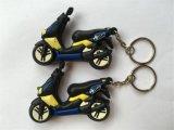 PVC promotionnel en plastique Keychain (KC-056) du cadeau 3D de qualité
