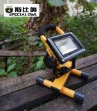20W COB Super Bright СИД Flood Light, Work Light, перезаряжаемые, Outdoor Portable, Flood/Project Lamp, IP67