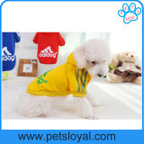 O cão de animal de estimação pequeno por atacado da fábrica veste camisas do cão