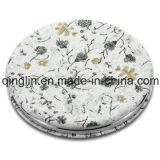 Custom Special Design Custom Printed Leather Cover Pocket Mirror