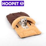 Faltbare Plüsch-Haustier-Hundekatze-Hefterzufuhr-geformtes Bett
