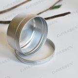 choc en aluminium du couvercle à visser 150ml pour l'empaquetage cosmétique
