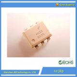 Acoplador óptico 4n33 de los fines generales 6-Pin Photodarlington