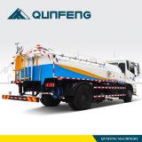Spoelende Vrachtwagen met de Schoonmakende Vrachtwagen van de Hoge druk