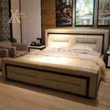 침실 (2101+61)를 위한 가죽 침대