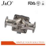 熱い販売のステンレス鋼の衛生空気のダイヤフラム弁