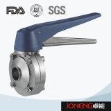 Valvola a farfalla saldata igienica dell'acciaio inossidabile (JN-BV2008)