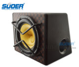 Suoer 12V Subwoofer аудиоий Subwoofer автомобиля 8 дюймов