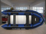 Bateau gonflable pour plancher en aluminium PRO, bateau de travail, bateau de sauvetage