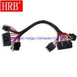 Fil de 6 circuits pour câbler le connecteur mâle de boîtier de récipient