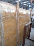 Gold francese Marble Slab per Countertops e Building Materials