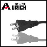 Ronde Wire met PSE Approval 2pin Japan Power Cord voor Plugs
