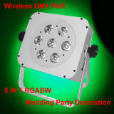 Flat Slim Housing 7X15W Rgbaw Wireless PAR LED