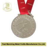 Médaille courante de souvenir de récompense de sport de marathon