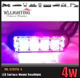 최고 밝은 LED 지상 설치 석쇠 경고등