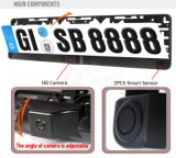 1ヨーロッパのNumber Plate Rear View Camera Parking Sensor Systemに付き3