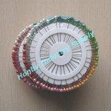 la pista plástica de la bola de la perla decorativa de 55m m fija la rueda