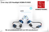 Faro H8/H9/H10 del chip LED del CREE dell'indicatore luminoso dell'automobile del LED