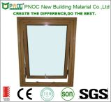 Top di alluminio Hung Window con Wood Grain
