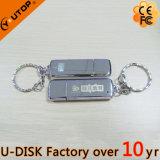 изготовленный на заказ ручка USB металла логоса гравировки лазера 1-128GB (YT-1248L)