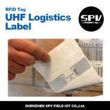 Etiqueta engomada Impinj M4 ISO18000 6c de la frecuencia ultraelevada de RFID