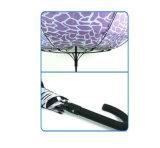 Wasser-Kräuselung-Druck-Fiberglas-windundurchlässiger Regenschirm (YS-SM23083907R)