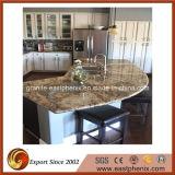 طبيعيّة يصقل مرج/رخام/صوّان أصفر حجارة [كونترتوب] لأنّ مطبخ/غرفة حمّام أعلى