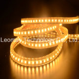 Luz de tira impermeável super do diodo emissor de luz da alta tensão 2835 do produto com centímetro cúbico