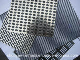 Alta calidad de malla metálica perforada Galvaized de malla decorativa