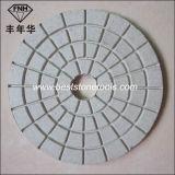 Buff di bianco Wd-5 per il tampone a cuscinetti per lucidare flessibile di pietra