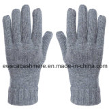 Reine Kaschmir-Handschuhe der Dame-fünf Finger