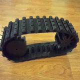 Trilhas de borracha do mini robô com rodas (100*40*37)