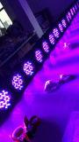 Waterdichte LEIDEN 54*3W RGBW OpenluchtPARI voor het Stadium van de Disco van DJ met Ce&RoHS