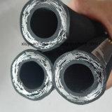 Espiral de alta presión de aceite hidráulico de la manguera de goma flexible con 602-3b