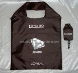 Подгонянная хозяйственная сумка плодоовощ полиэфира складывая для выдвиженческой бесплатной раздачи