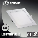 6W Ronda LED Panel de luz LED Panel Ultra Thin