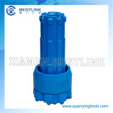 Trépanos de sondeo de la circulación del revés del martillo de DTH para la perforación del receptor de papel de agua