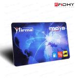 Cartão de alta freqüência desobstruído do PVC RFID para o negócio