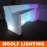 Contador impermeável da barra da mobília do diodo emissor de luz do PE da tabela da barra do diodo emissor de luz