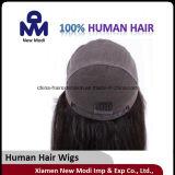 Perruque populaire de cheveux humains avec des cheveux de Vierge