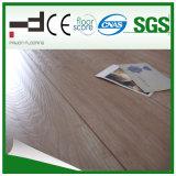 plancher brun clair de stratifié de bois dur de surface de foulage de Techology d'Allemand de 8mm