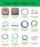 Câble optique de blanc de cordon de connexion de fibre de la MU